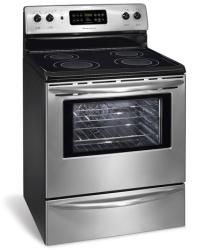 Brand: FRIGIDAIRE, Model: GLEFZ388GC, Color: Stainless Steel/Black