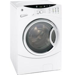 Brand: GE, Model: WCVH6800JMR, Color: White on White