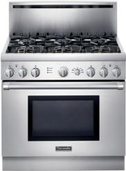 Brand: Thermador, Model: PRD366EHU, Color: Stainless Steel
