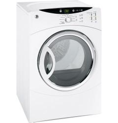 Brand: GE, Model: DCVH680EJWW, Color: White on White
