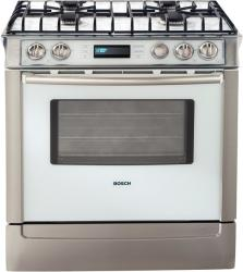 Brand: Bosch, Model: HDI7152U, Color: White with Stainless Steel Trim