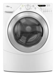 Brand: Whirlpool, Model: WFW9500TW, Color: White with Brushed Chrome Accents