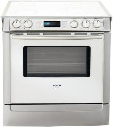 Brand: Bosch, Model: HEI71, Color: White with Stainless Steel Trim