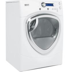 Brand: GE, Model: DPVH880EJMV, Color: White