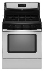 Brand: Whirlpool, Model: WFG381LVS, Color: Stainless Steel