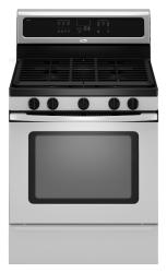 Brand: Whirlpool, Model: GFG461LVB, Color: Stainless Steel
