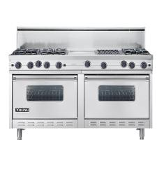 Brand: Viking, Model: VGRC6056GQDBK, Color: Stainless Steel