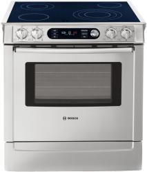 Brand: Bosch, Model: HEI7032U, Color: White with Stainless Steel Trim