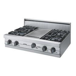 Brand: Viking, Model: VGRT3604GWH, Color: Stainless Steel