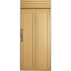 Brand: GE, Model: ZIRS360NXLH, Color: Requires Custom Panel, Right Hinge Swing