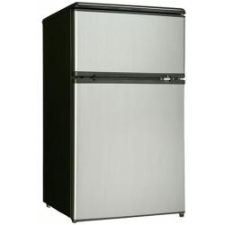 Brand: DANBY, Model: DCR326BSL, Style: 3.1 cu. ft. Compact Top Freezer Refrigerator