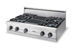 Brand: Viking, Model: VGRT3624QX, Color: Stainless Steel