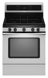 Brand: Whirlpool, Model: GFG471LVQ, Color: Stainless Steel
