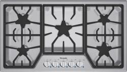 Brand: Thermador, Model: SGS365FS, Style: 36 Inch Gas Cooktop