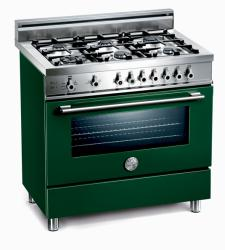 Brand: Bertazzoni, Model: X365GGVBL, Fuel Type: Green, Natural Gas
