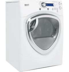 Brand: GE, Model: DPVH890EJ, Color: White