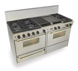 Brand: FiveStar, Model: WTN6377W, Color: Stainless Steel with Brass Package
