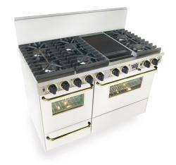 Brand: FiveStar, Model: WTN5377W, Color: White with Brass Package