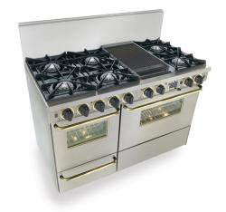Brand: FiveStar, Model: TTN5257, Color: Stainless Steel with Brass Package
