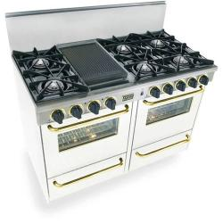 Brand: FiveStar, Model: TTN5107BSW, Color: White with Brass Package