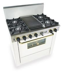 Brand: FiveStar, Model: TTN3257W, Color: White with Brass Package