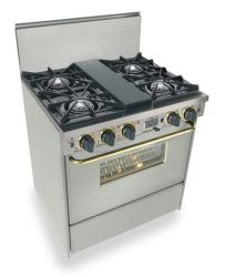 Brand: FiveStar, Model: TTN275BSW, Color: Stainless Steel with Brass Package