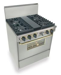 Brand: FiveStar, Model: TTN287BW, Color: Stainless Steel with Brass Package