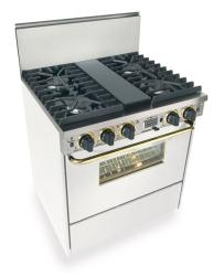 Brand: FiveStar, Model: WTN287W, Color: White with Brass Package