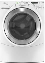 Brand: Whirlpool, Model: WFW9700VW, Color: White with Brushed Chrome Accents