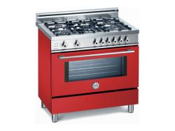Brand: Bertazzoni, Model: X365PIRCR, Color: Red