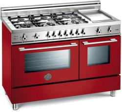 Brand: Bertazzoni, Model: X486GGGVBL, Fuel Type: Red, Natural Gas