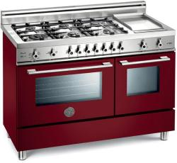 Brand: Bertazzoni, Model: X486GGGVNE, Fuel Type: Burgundy, Natural Gas