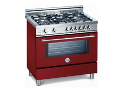 Brand: Bertazzoni, Model: X365PIRVE, Color: Burgundy