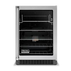 Brand: Viking, Model: VUAR140FSS, Style: Clear Glass Door with Black Interior