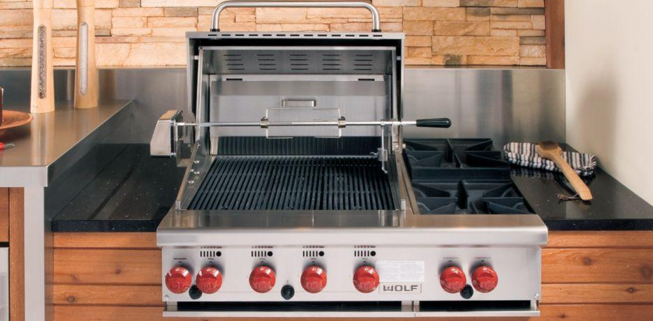 Bbq36bi Wolf Bbq36bi Grills 36 Quot Built In Gas Bbq Grill