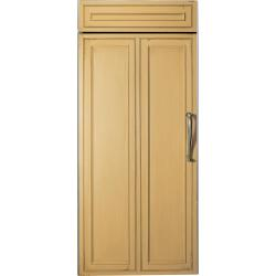 Brand: GE, Model: ZIRS360NXLH, Color: Requires Custom Panel, Left Hinge Swing