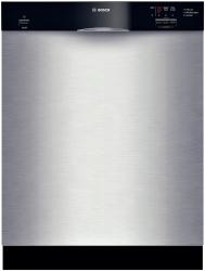 Brand: Bosch, Model: SHE33M06UC, Color: Stainless Steel with Black Control