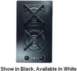 Brand: Verona, Model: CTGG212FW, Style: 12 Inch Glass Gas Cooktop