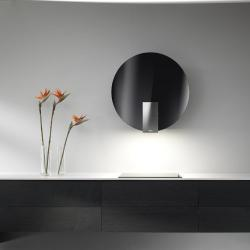 Brand: ELICA, Model: ESP630BL, Color: Black Glass with Stainless Steel