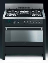 Brand: SMEG, Model: A1AU6, Color: Anthracite/Matte Black