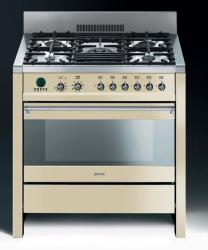 Brand: SMEG, Model: A1AU6, Color: Cream