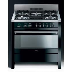 Brand: SMEG, Model: A1AU6, Color: Glossy Black