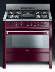 Brand: SMEG, Model: A1AU6, Color: Glossy Red Wine