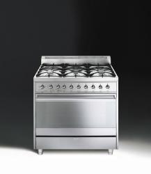 Brand: SMEG, Model: C9GGXU, Color: Stainless Steel