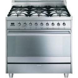 Brand: SMEG, Model: C9GMXU, Color: Stainless Steel