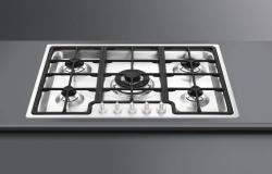 Brand: SMEG, Model: PGF75U3, Style: Stainless Steel Front Controls