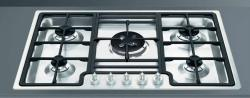 Brand: SMEG, Model: PGF75U3, Style: Transparent Front Controls