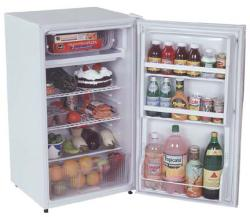 Brand: SUMMIT, Model: FF42SSTBAL, Color: White Cabinet