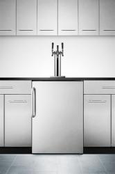 Brand: SUMMIT, Model: SBC490BISSTBTWIN, Style: Triple Tap System