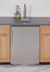 Brand: SUMMIT, Model: SBC490BISSTB7TWIN, Style: Twin Tap System